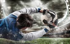 创意 足球 守门员