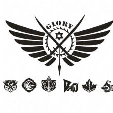 全职高手logo 队徽 兴欣