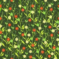 绿色小碎花背景矢量素材