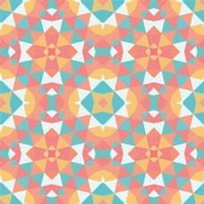 三角形几何时尚矢量背景
