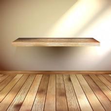 简约室内装饰木板背景