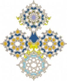 欧式服装设计花纹印花