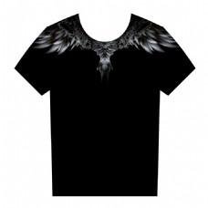 鹰短袖设计