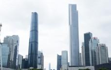 广州双子塔 广州金融中心