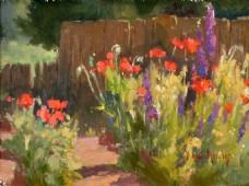 高清风景油画装饰画