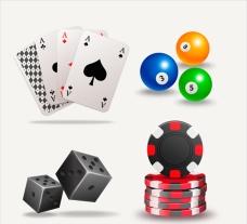 一组赌场的元素集