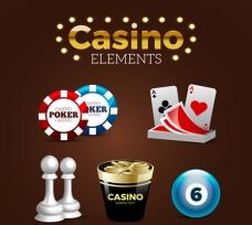 各种赌场元素