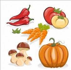 蔬菜插图集合