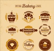 复古面包店标志