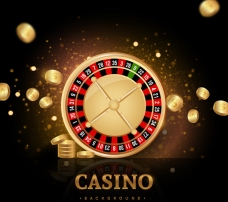 金色赌场的背景