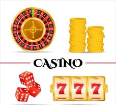 赌场游戏元素的集合