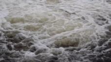 湍急的流水视频