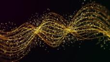 高清漂浮粒子阵列视频素材