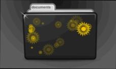 文件夹元素视频背景