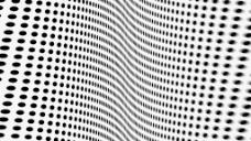 网点波纹视频素材