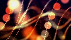 光斑粒子线条视频背景