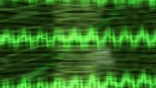 绿色波纹视频背景