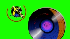 唱片视频素材设计