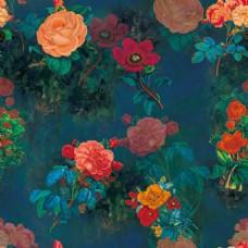 暗纹花朵装饰图案