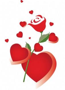 红玫瑰png免扣元素