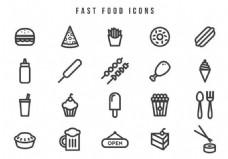 快餐美食图标