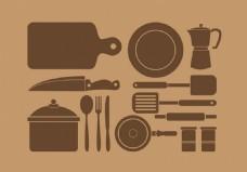 美食工具餐具