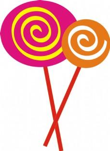 棒棒糖糖果元素设计
