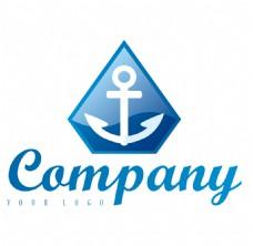 船锚航海logo设计