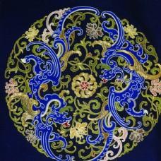 福气植物传统纹样