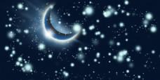 月亮背景效果素材