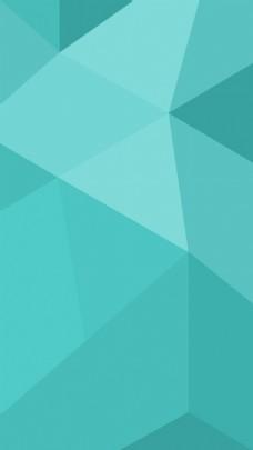 现代简约蓝色几何背景