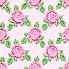 复古欧式玫瑰花蕾丝矢量背景