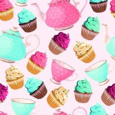 甜品蛋糕矢量纹理背景