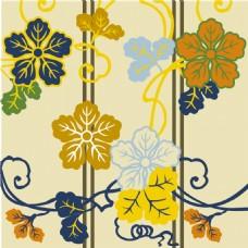 黄色树叶背景图
