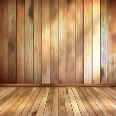 简约木质纹理地板背景
