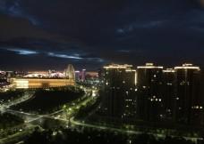 夜晚的城市