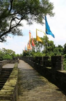 莲花山 古城墙