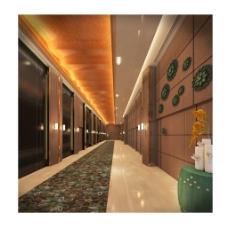 走廊美容养生会所工装设计效果图
