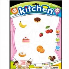餐具水果卡板玩具包装卡通水果人