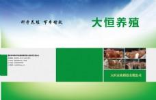 养殖公司画册封面