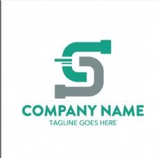 创意彩色抽象logo矢量素材