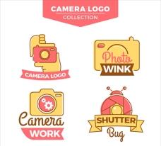 彩色影楼摄影工作室标志商标