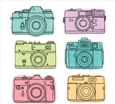 手绘风格相机插图