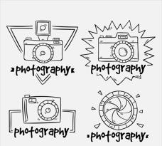 影楼摄影工作室标志集合