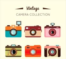 复古相机插图收藏