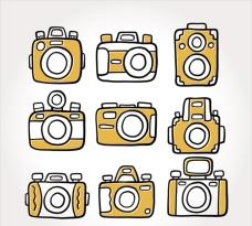 手绘简笔相机插图