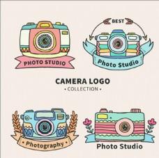 影楼摄影工作室标志集