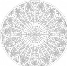 抽象图 圆形