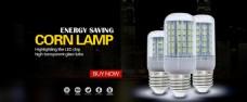 LED玉米灯海报