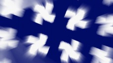 旋转白色元素视频背景